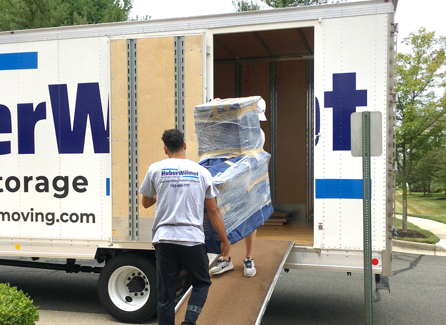 HuberWilmot Movers, moving on to truck